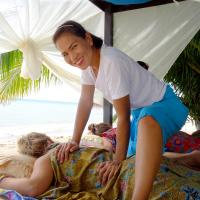 Beach time in Koh Phangan and Massage