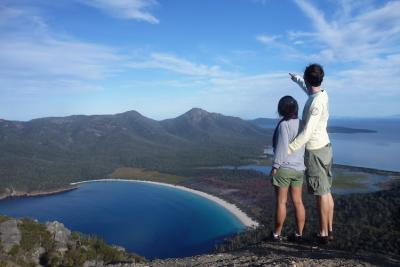 Enjoy the view of Wineglass Bay