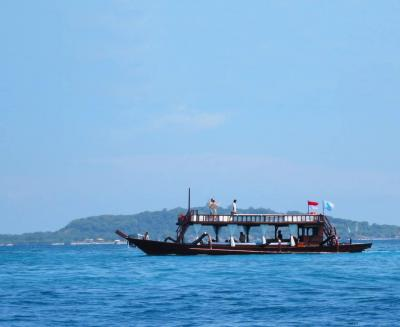 Beautiful Boat in Gili Islands