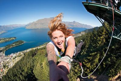 Try the Bungy in Queenstown