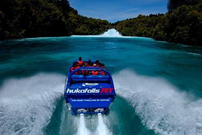 Huka Falls Jetboat Ride Taupo