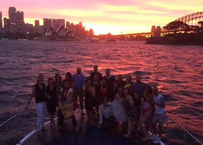 Boat cruise and lunch on Sydney Harbour
