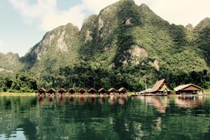 Floating Bungalows of Thailand